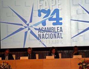 Carlos Sanz, Jesús Picatoste, Elsa González y Aurelio Martín.