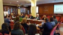 La mesa de participantes