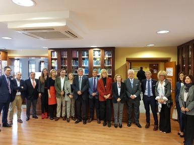 Los participantes del encuentro